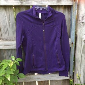 NWOT purple lululemon jacket!!
